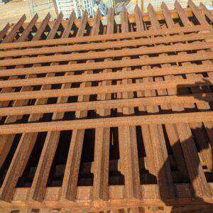 Angle Iron Fence Panels