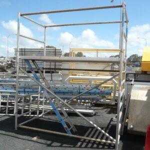 Aluminium Scaffold Kits 2.4m (L) x 1.2m (W) x 1.8m (H)