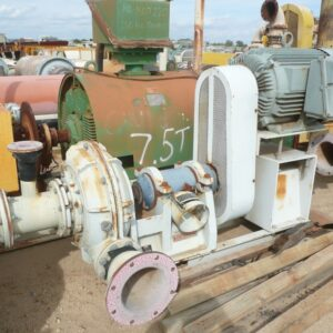 Linatex rubber lined pump