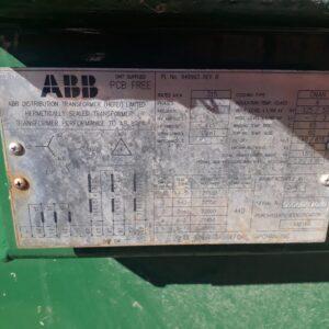 ABB 315 kva Transformer