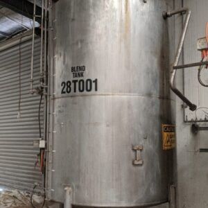 5,000L Stainless Steel Tank