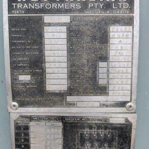Westralian 2000kva Transformer